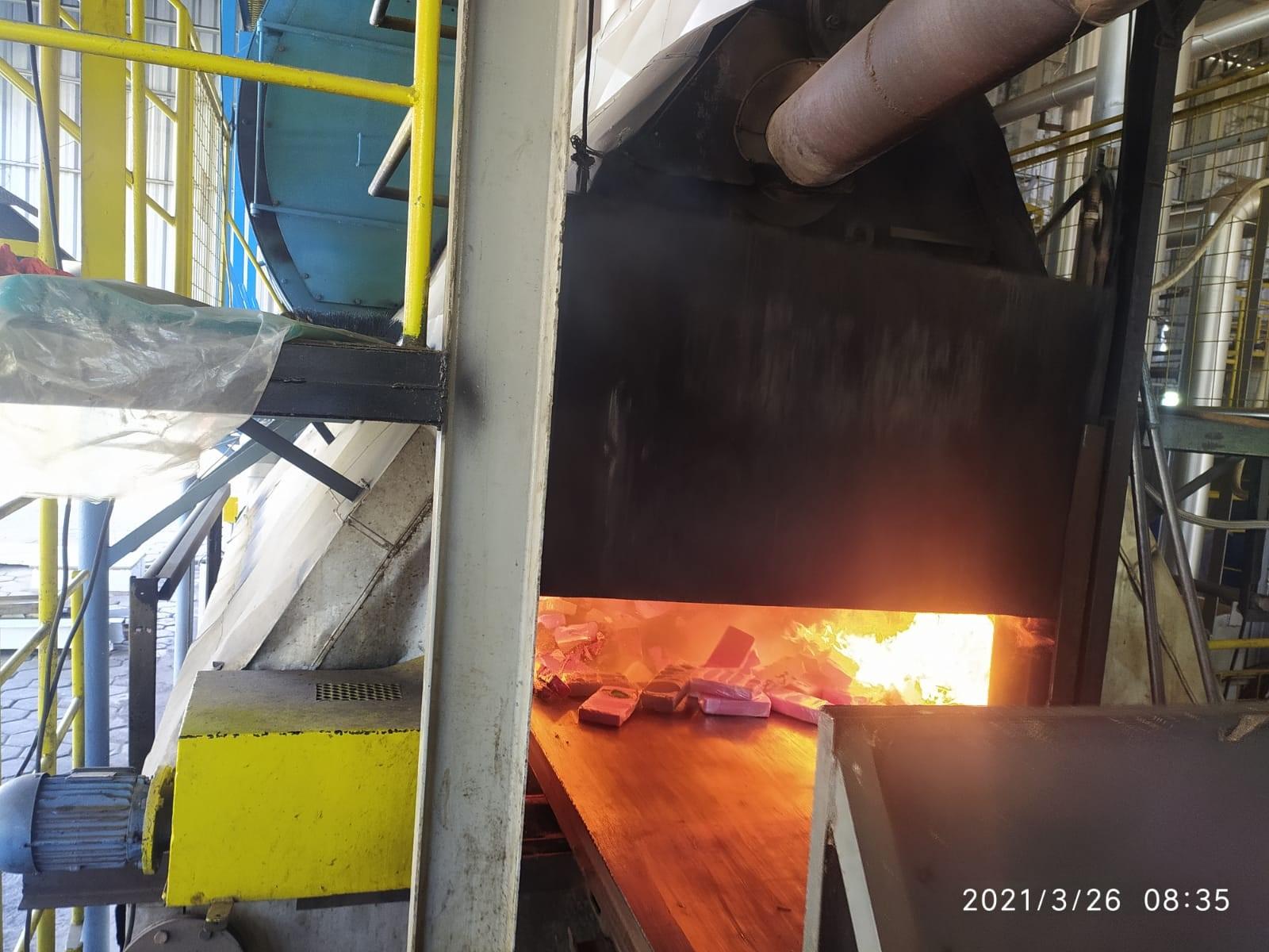 Polícia Civil incinera mais de 205 quilos de drogas em Nova Andradina